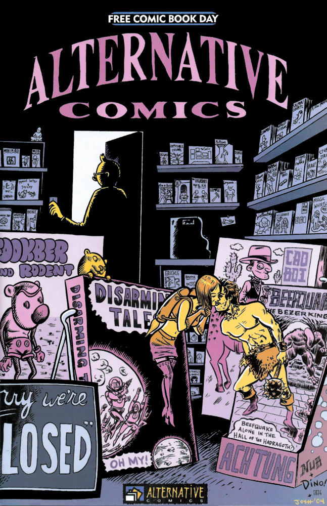 Alternative Comics #2 — Anthologies