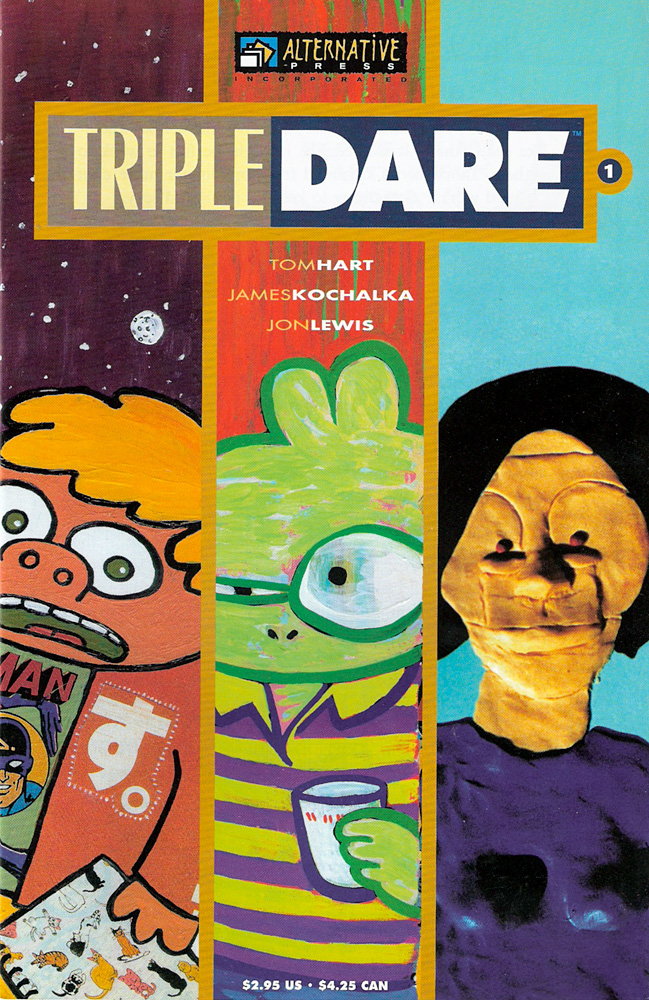 Triple Dare #1 — Anthologies