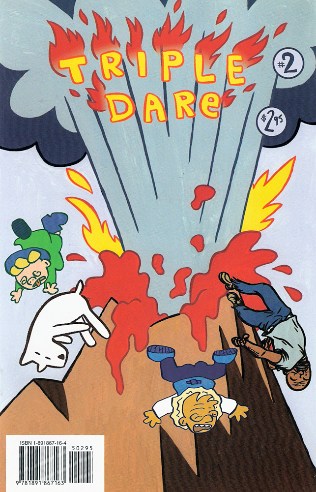 Triple Dare #2 — Anthologies