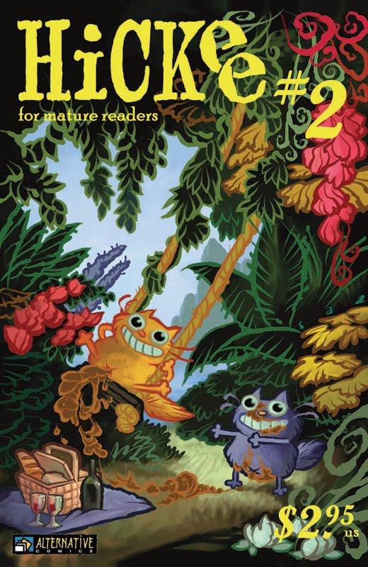 Hickee Vol. 3 #2 — Anthologies
